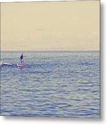 Paddle Surf 2 Metal Print