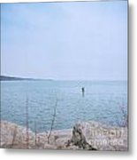 Stand-up Paddle Boarding Metal Print