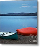 Paddle's End Metal Print