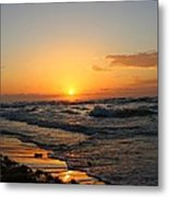 Padre Sunrise Metal Print