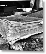 Pages Of Presence  Metal Print
