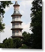 Pagoda - Dessau Woerlitz Metal Print