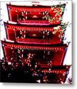 Pagoda Marvel Metal Print