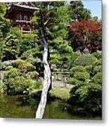 Pagoda On The Lake Metal Print