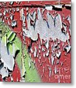 Paint Abstract Metal Print