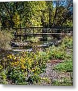 Paint Creek Bridge Metal Print