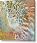 Paint Me A Cheetah Metal Print