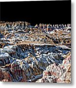 Paint Mines Iv-a Time Of Division Metal Print
