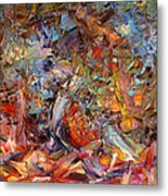 Paint Number 43a Metal Print by James W Johnson