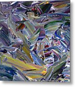 Paint Number 57 Metal Print by James W Johnson