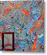 Paint Number Forty Metal Print