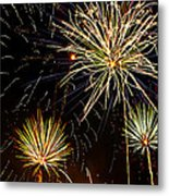 Paint The Sky With Fireworks  Metal Print