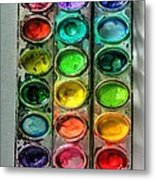 Paint Well Loved Metal Print