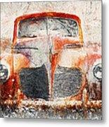 Painted 1940 Desoto Deluxe Metal Print