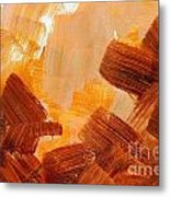 Painted Background Texture Metal Print