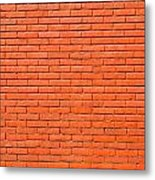 Painted Brick Wall Metal Print
