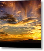 Painted By Mother Nature  Metal Print