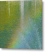 Painted By Water And Light Metal Print