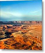 Painted Canyonland Metal Print
