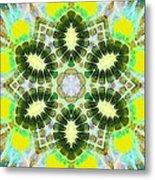 Painted Cymatics 181.66hz Metal Print