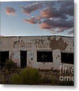 Painted Desert Trading Post At Sunset Metal Print