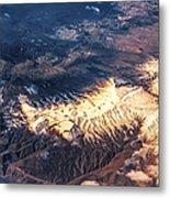 Painted Earth Iv Metal Print