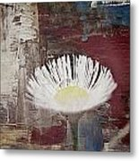 Painted Flower Metal Print