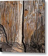 Painted Grotto Carlsbad Caverns National Park Metal Print