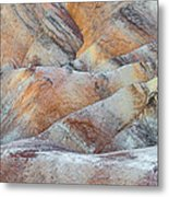 Painted Hills In Death Valley Metal Print