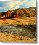 Painted Hills Sunset Metal Print