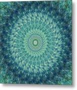 Painted Kaleidoscope 7 Metal Print