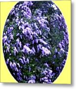Painted Lilacs Metal Print