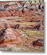 Painted Mounds Metal Print