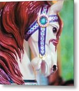Painted Pony Metal Print