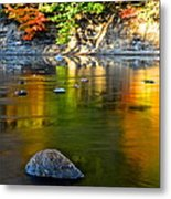 Painted River Metal Print
