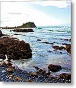 Painted Seascape Metal Print