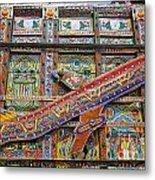 Painted Truck In Pakistan Metal Print