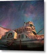 Painterly Northern Lights Metal Print
