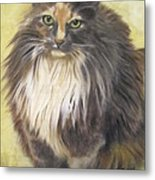 Painting Of Shelby Metal Print by Sharon Burger