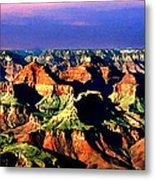 Painting The Grand Canyon National Park Metal Print