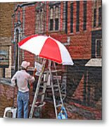 Painting The Past Metal Print