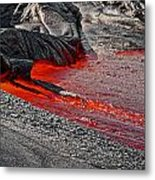 Painting The Town Red Metal Print