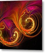 Painting With Light Metal Print