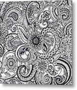 Paisley Metal Print