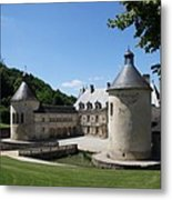 Palace Bussy - Rabutin - Burgundy Metal Print