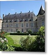 Palace Bussy Rabutin From The Garden Metal Print
