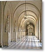Palace Corridor Metal Print