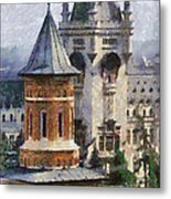 Palace Of Culture Metal Print