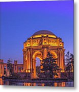 Palace Of Fine Art San Francisco Metal Print