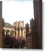 Palace Of Fine Arts 8 Metal Print